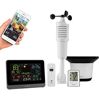 La Crosse Technology C83100-INT WiFi Professional Weather Station, Black