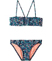 Roxy Kids - Beach Bound Bandeau Set (Toddler/Little Kids)