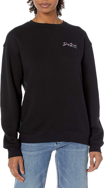 Billabong Women's Graphic Crewneck ブランド買うならブランドオフ Sweatshirt 誕生日 お祝い