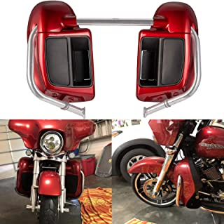 Wicked Red Lower Vented Fairings Kit Glove Box Fit for Harley Touring Road Glide Street Glide Road King Special 2018 2019