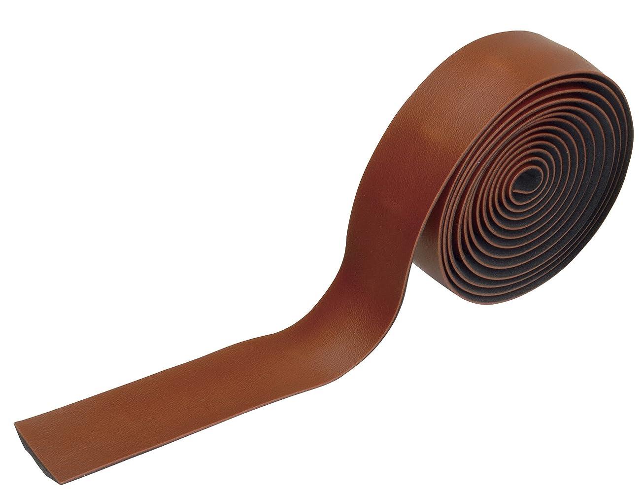 ホテルデジタル手数料GIZA PRODUCTS(ギザプロダクツ) レザーバーテープ ブラウン HBT01501
