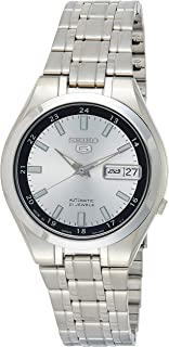 SEIKO Men's Automatic Watch, Analog Display and Stainless Steel Strap SNKG19J1