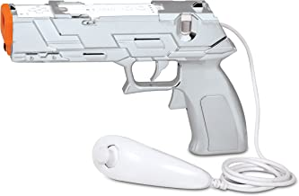 Wii Silver Edition Quick Shot Plus Dual Trigger Light Gun