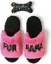 Dearfoams Women's Fur Mama Slide Slipper