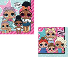 Sponsored Ad - L.O.L Surprise! Party Theme Napkins Bundle (Two Sizes of Napkins - Lunch & Beverage)