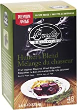 Bradley Smoker Hunter's Blend Bisquettes (48 Pack)