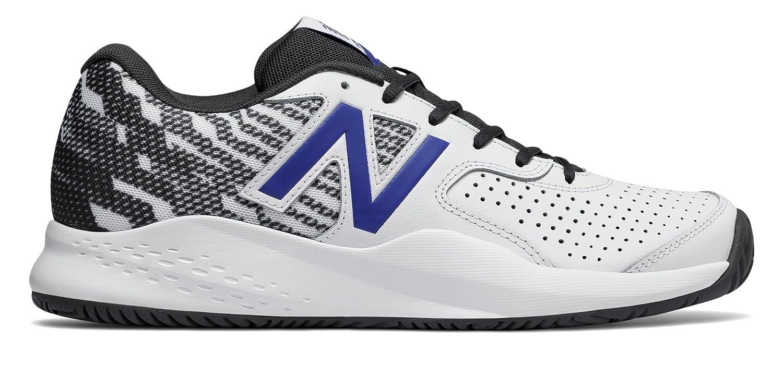 (ニューバランス) New Balance 靴?シューズ メンズテニス New Balance 696v3 White with Pacific and Black ホワイト パシフィック ブラック US 11.5 (29.5cm)