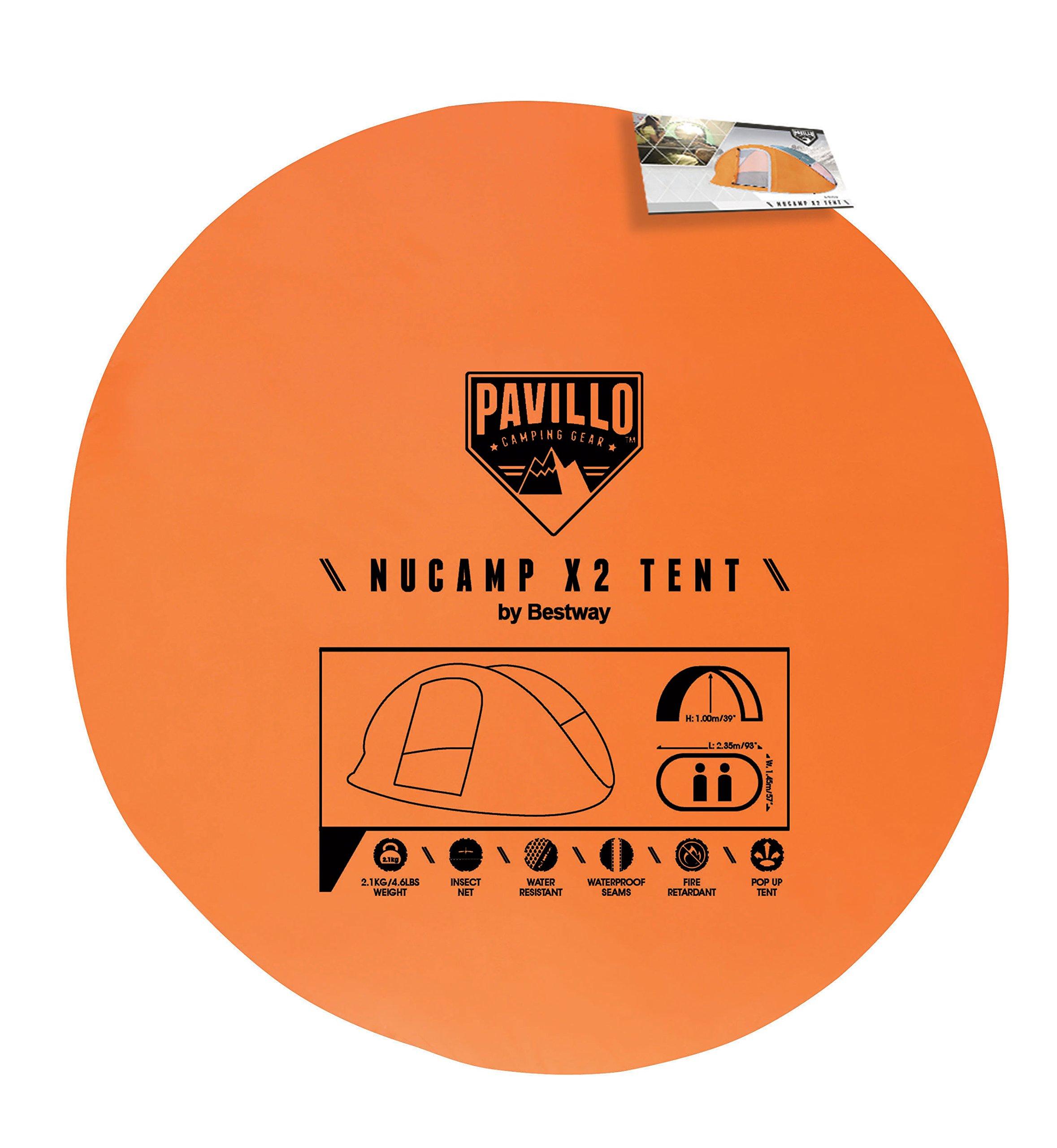 Pavillo Tenda pop-up Nucamp X2