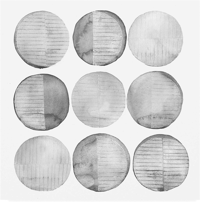 Trademark Fine Art Soft Circles I by Grace Popp, 14x14