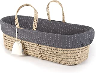 plum and sparrow moses basket used