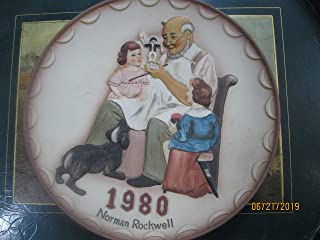 1980 Norman Rockwell The Toymaker Plate