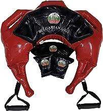 Suples Bulgarian Bag - Strong Fit Model (Red, Medium, 26-37 lbs, synthetic leather) Suples - The Original Bulgarian Bag Creator - Crossfit, Sandbag, Training Bag, Weighted Bag, Weight Bag.
