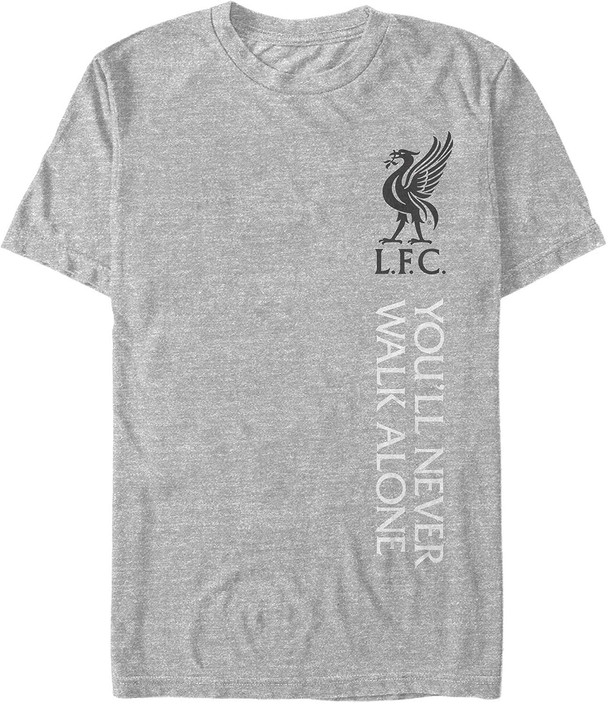 Fifth Sun Men's Liverpool Fc Logo Never Alone T-Shirt