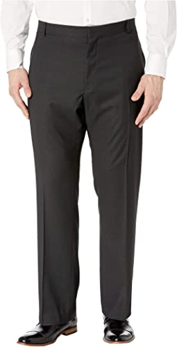 Big & Tall Classic Fit Non Iron Performance Nailhead Dress Pants