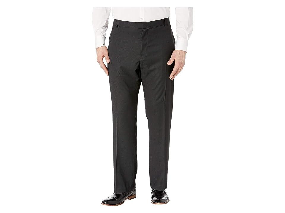 Perry Ellis Portfolio - Perry Ellis Portfolio Big Tall Classic Fit Non Iron Performance Nailhead Dress Pants