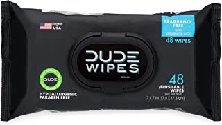 DUDE Wipes Flushable Wipes Dispenser, Pack of 1