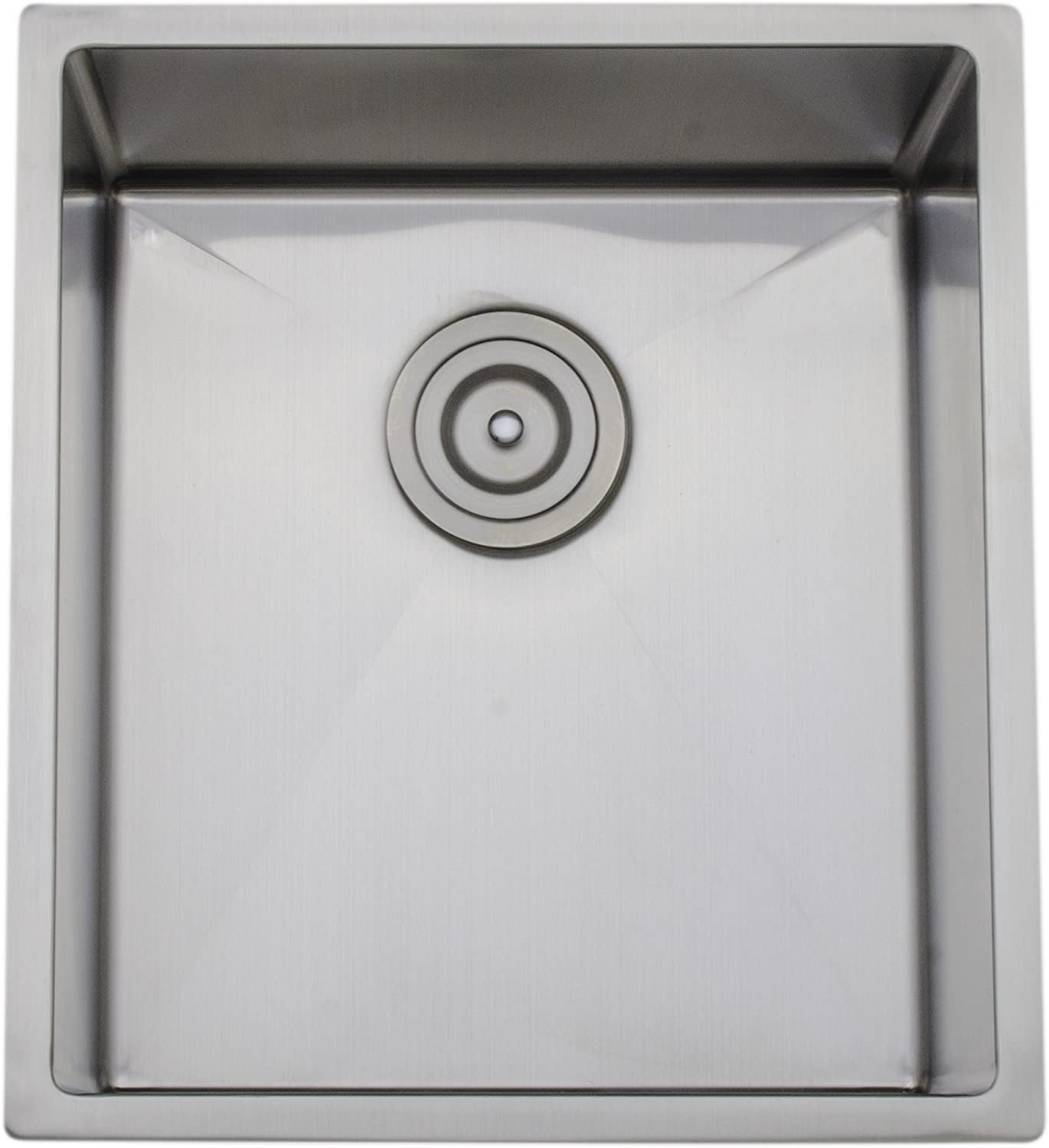 WELLS CSU1720-9 SINGLE BOWL STAINLESS STEEL SINK CHEF`S COLLECTION