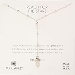 Dogeared Reach For The Stars, Moonstonegem Spear Y-Necklace
