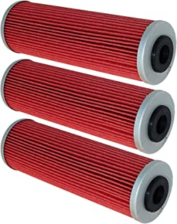CALTRIC 3 PACK OIL FILTER compatible with KTM 950 SUPERMOTO R 2005-2008/990 SUPER DUKE R 2005-2008