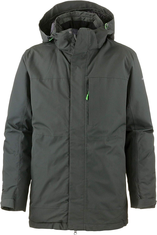 Icepeak Men's Synthetic Fibre Jacket Green Size 52