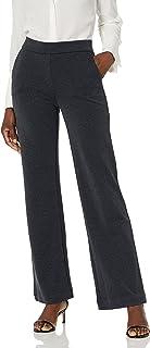 Lark & Ro Pantalón de Pierna Ancha. Pantalones para Mujer