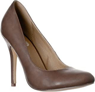 Riverberry Women's Piper Round Toe, High Heel Pumps