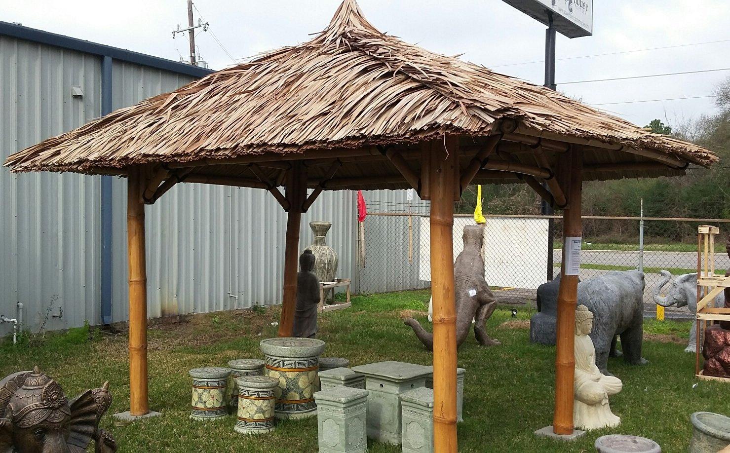 Bali Cenador, gazebo, Bali cabaña de bambú, 2 x 2 m, hasta 4 x 4 m ...