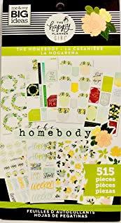MAMBI, Happy Planner Girl The HOMEBODY Classic Value Stickers