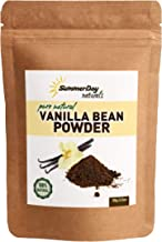 Vanilla Bean Powder, 3.53 Oz - Raw Ground Vanilla Bean - Unsweetened, Gluten-Free - EXTREMELY FRESH - Ground Moments Before Packaging!