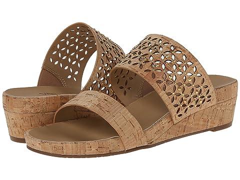 Womens Sandals Vaneli Kirima Natural Cork/Gold Nails