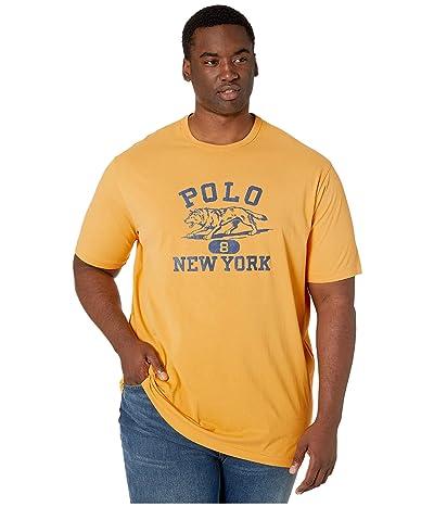 Polo Ralph Lauren Big & Tall Big Tall Classic Fit Graphic T-Shirt (Gold Bugle) Men