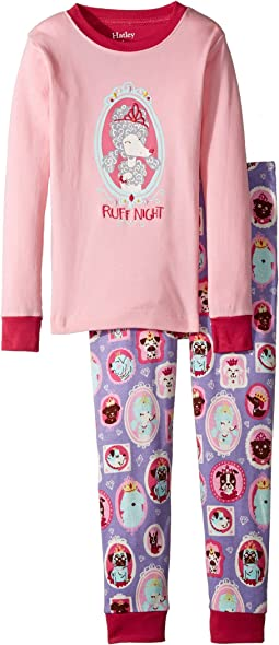 Princess Pups Ruff Night PJ Set (Toddler/Little Kids/Big Kids)