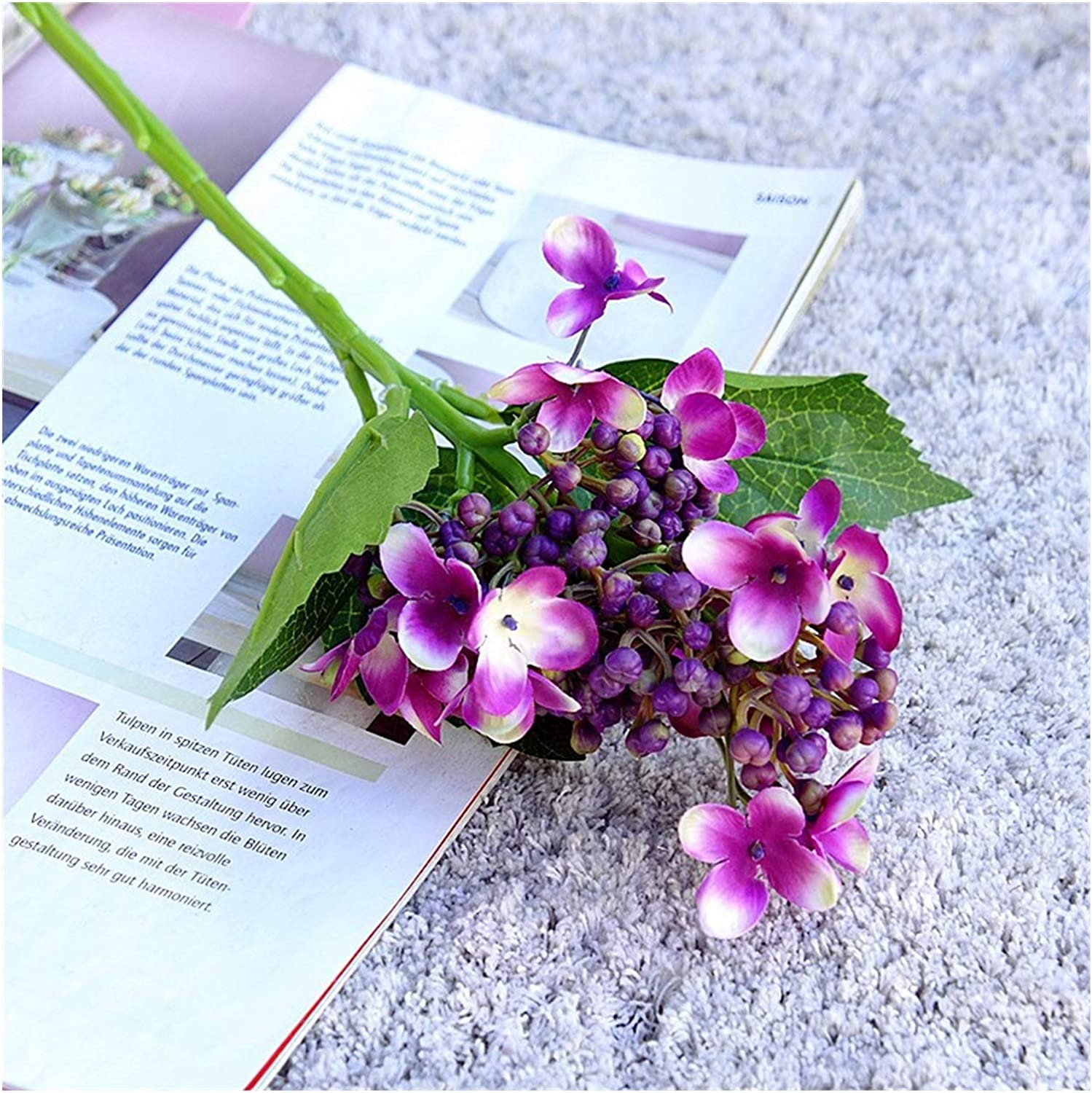 YSHSPED Artificial Flowers Fake Silk overseas Special price f Leaves
