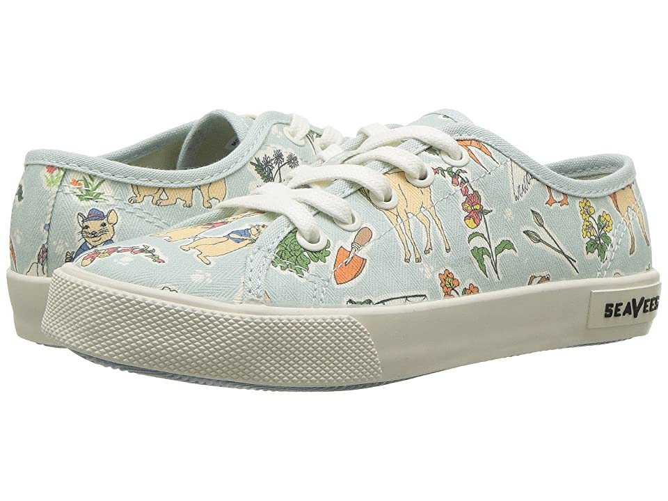 SeaVees Monterey Sneaker Peter Rabbit (Toddler/Little Kid/Big Kid) (Green Peter Rabbit) Men