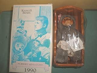 ROBERT RAIKES BEARS Alison with Cradle BEAR CHAIR NEW IN BOX NURSERY MINIATURES