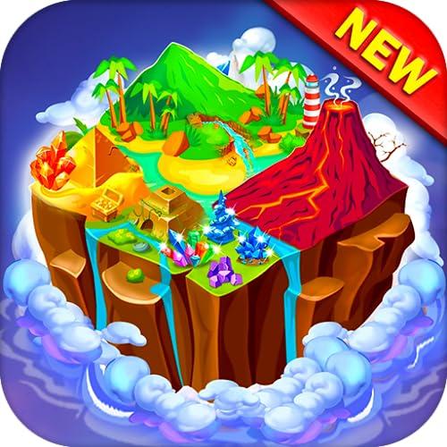 Merge Island : Idle Island Game , Drag N Merge
