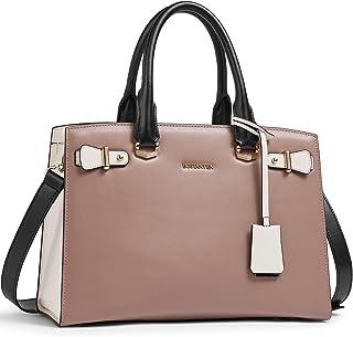BOSTANTEN Damen Leder Handtasche Schultertasche Elegante Umhängetasche Henkeltasche Ledertaschen Tote Bag