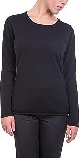 Lagnamelagna Cachemire - La16 - T-Shirt Manica Lunga 100% Puro Cashmere Certificato. Fatto in Italia.