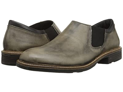 Naot Director (Vintage Gray Leather/Jet Black Leather) Men
