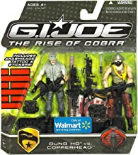 G.I. Joe Movie The Rise of Cobra 3 3/4 Inch Action Figure Exclusive 2-Pack Gung Ho Vs. Copperhead