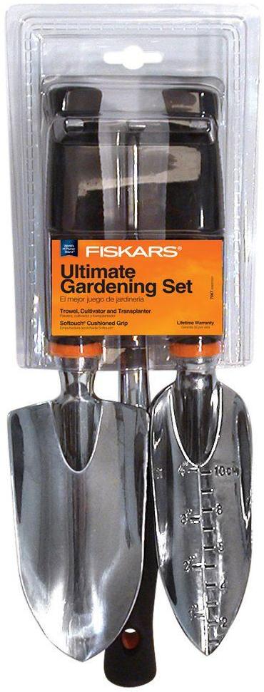 Fiskars Softouch Garden Tool Set (3-Piece)-70676935J - The Home Depot