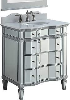 Best mirrored bathroom vanity with sink Reviews