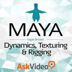 Featuring our industry specialist trainer, Nigel Broad ! This course on Maya Texturing and Rigging will show you everything you need to know ! With 30 videos, and 1 hour and 53 minutes of valuable reference material ! Including a fully interactive in...