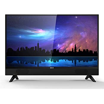 AKAI TV AKTV3215 Ethernet Televisore 32 Pollici TV LED HD Soundbar integrata