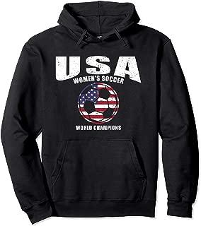 USA United States Women 2019 Hoodie Sweatshirt Soccer Hoody