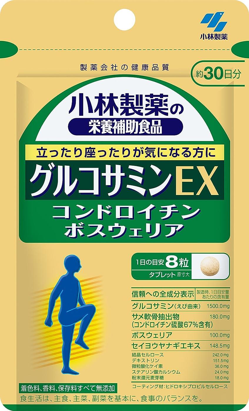 太い依存趣味小林製薬の栄養補助食品 グルコサミンEX 約30日分 240粒