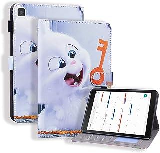 جراب نحيف من Mylne لهاتف Samsung Galaxy Tab A8.0 T290/T295/T297 {8 بوصات}، جراب بحامل للأقلام المغناطيسي / فتحات للبطاقات ...