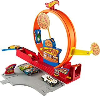 Hot Wheels Pizza City Track Set