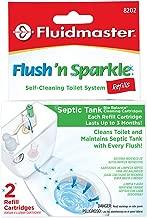 green flush toilet cleaner