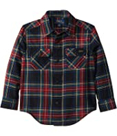 Polo Ralph Lauren Kids Plaid Cotton Twill Workshirt (Toddler)